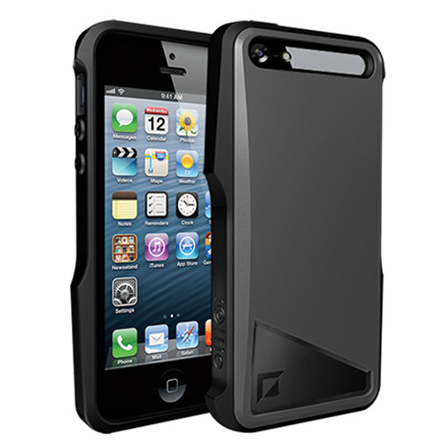 iOttie Notch Protective Case Cover for iPhone 5 (Gunmetal Gray)