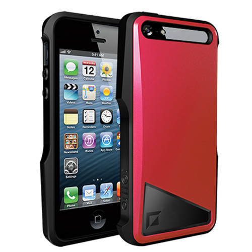 iOttie Notch Protective Case Cover for iPhone 5 (Crimson Red)