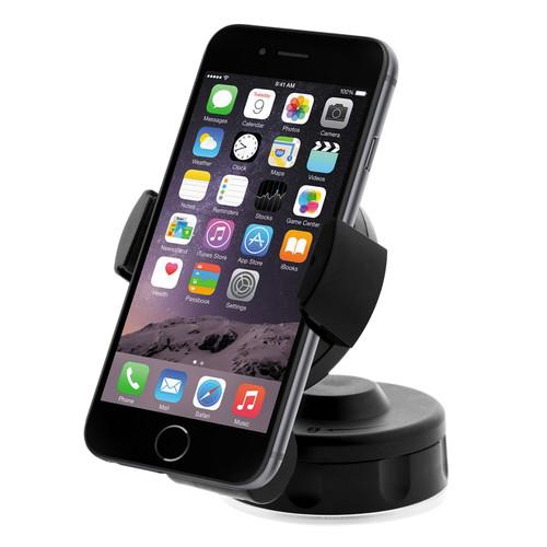 iOttie Easy Flex 2 Car Mount Holder Desk Stand for Smartphones with Rapid Volt Dual Port USB Car Charger Kit