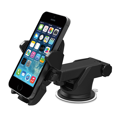 iOttie Easy One Touch 2 Universal Car Mount for iPhone 6/6 Plus/5s/5c, Galaxy Note 3/2, Galaxy S5, S4 Smartphones (Black)