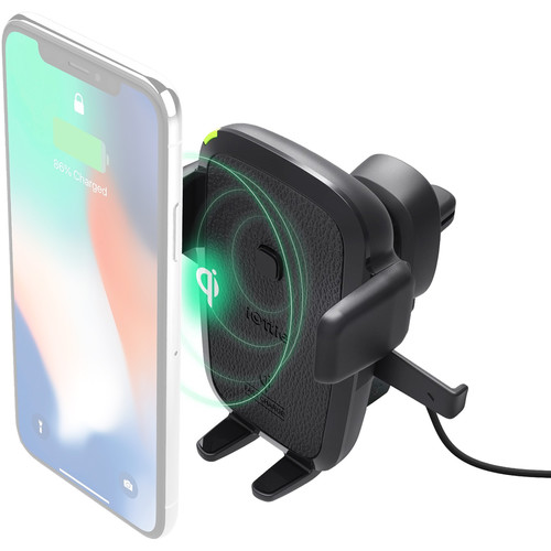 iOttie Easy One Touch Wireless Qi Fast Charging Smartphone Car Air Vent Mount