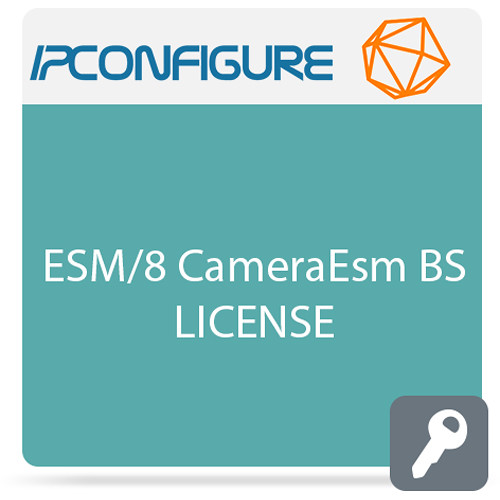 IPConfigure Enterprise Surveillance Management Base Software with 1-Year Support/Upgrade Subscription (8 Cameras)