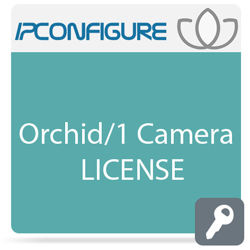 IPConfigure Orchid Video Management Software with 1-Year Support/Upgrade Subscription