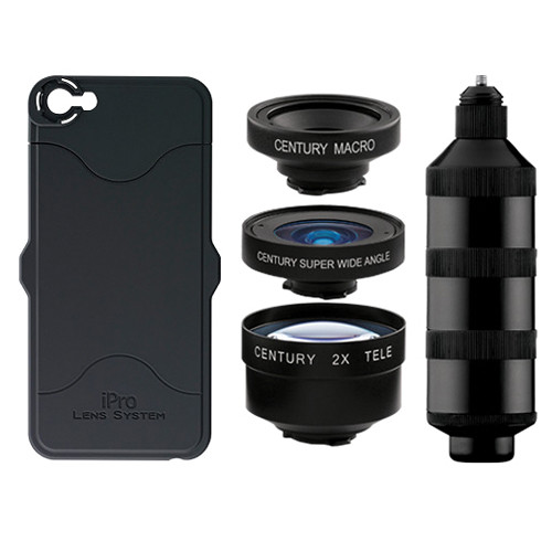 iPro Lens by Schneider Optics Series 2 Trio Kit for iPhone 5s/SE