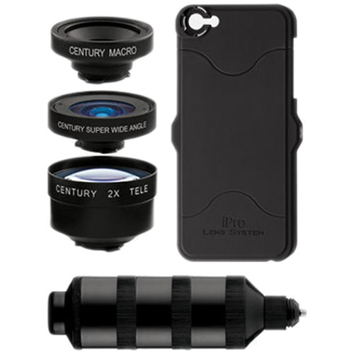 iPro Lens by Schneider Optics Series 2 Trio Kit for iPhone 5