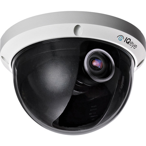 IQinVision Alliance-pro IQA32WIA3 Day/Night Vandal Resistant IP Dome Camera with 3 to 8mm Varifocal Lens and PoE Support