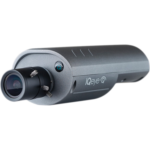 IQinVision IQeye 7 Series IQ763WI-V16 3.1MP Day/Night Megapixel Indoor IP Camera with 2.8-12mm Lens (Gray)