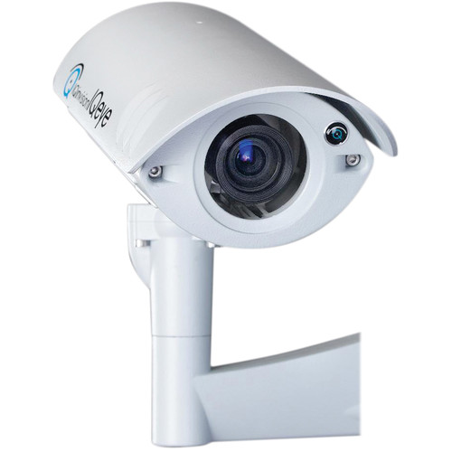 IQinVision IQeye Sentinel IQ861NE-V17 Megapixel Day/Night Outdoor IP Camera with V17 3.3 to 10mm Wide-Angled Lens