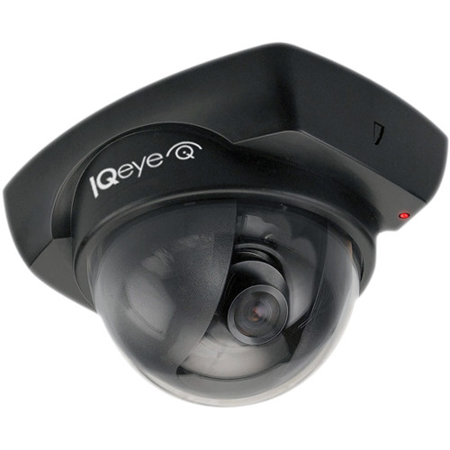 IQinVision IQeye Alliance-mini II Series IQD51WV-B7 720p H.264 Vandal-Resistant PoE IP Dome Camera with 3 to 6mm Varifocal Lens