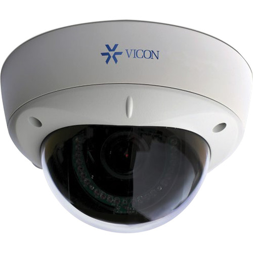 IQinVision Alliance-MX 720p Day/Night IR Indoor/Outdoor Dome Camera with 3-13mm Lens