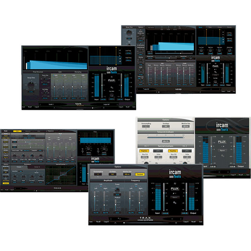 IRCAM TOOLS Studio Plug-In Bundle (Electronic Download)