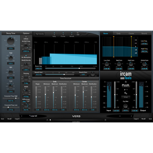 IRCAM TOOLS Verb Room Acoustics and Reverberation Plug-In (Electronic Download)