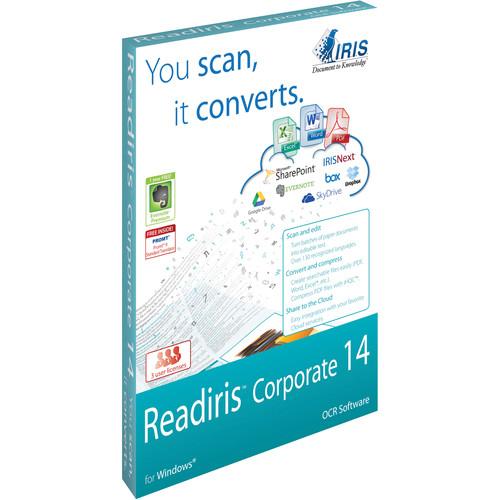 IRIS Readiris Corporate 14 (Windows, Download, 3 Users)