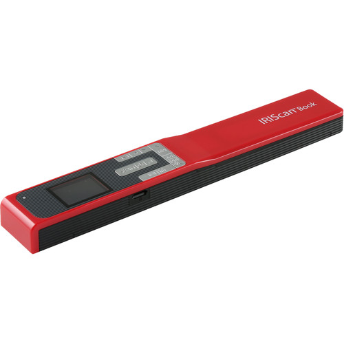 IRIScan Book 5 Portable Scanner (Red)