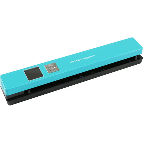 IRIS IRIScan Anywhere 5 Portable Scanner (Turquoise)