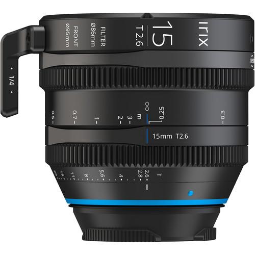 IRIX 15mm T2.6 Cine Lens (Canon EF, Feet)
