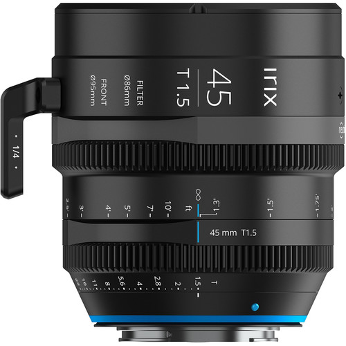 IRIX 45mm T1.5 Cine Lens (Canon EF, Feet)