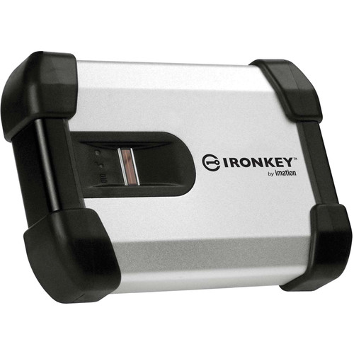 IronKey 500GB H200 External Biometric Hard Drive