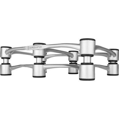 IsoAcoustics Aperta 300 Sculpted Aluminum Speaker Isolation Stand (Silver)
