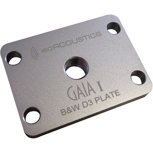 IsoAcoustics B&W D3 Plate Adapter / Mounting Plates (4-Pack)
