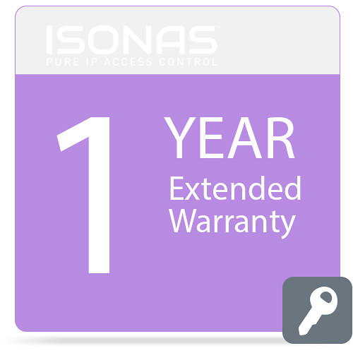 Isonas Extended Warranty for PowerNet IP RC-03 Reader (1-Year)