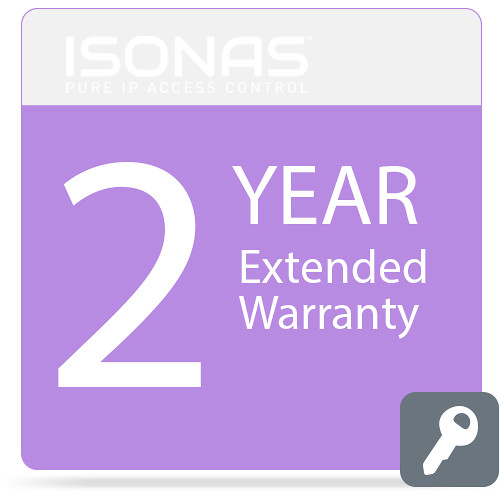 Isonas Extended Warranty for PowerNet IP RC-03 Reader (2-Year)