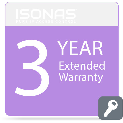 Isonas Extended Warranty for PowerNet IP RC-03 Reader (3-Year)