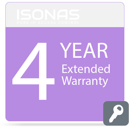 Isonas Extended Warranty for PowerNet IP RC-03 Reader (4-Year)
