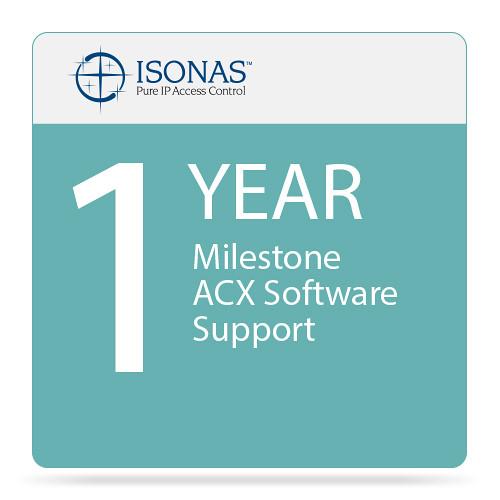 Isonas 1-Year Milestone ACX Software Support