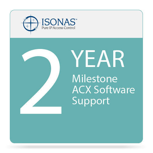 Isonas 2-Year Milestone ACX Software Support