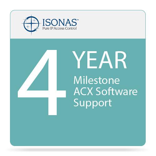 Isonas 4-Year Milestone ACX Software Support