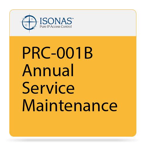 Isonas PRC-001B Annual Service Maintenance