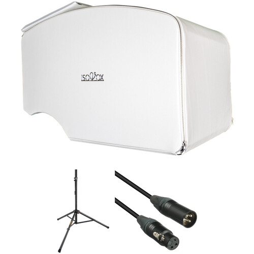 ISOVOX 2 Portable Vocal Booth Kit with Stand and XLR Cable