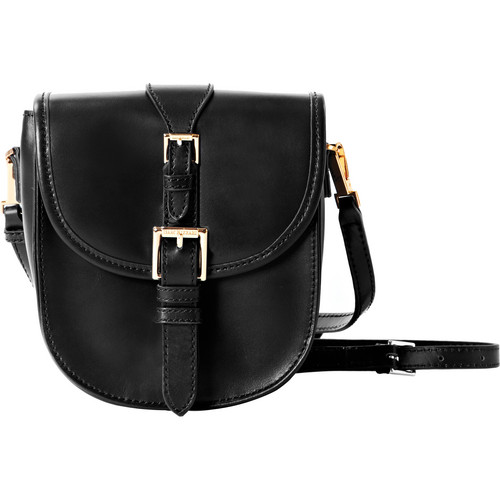 ISAAC MIZRAHI The Jane Cross-Body Camera Bag (Black)