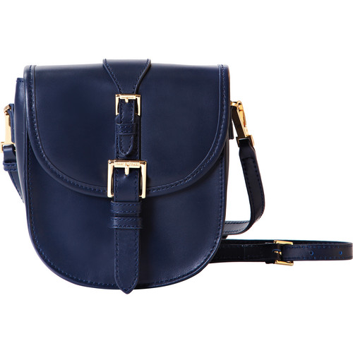 ISAAC MIZRAHI The Jane Cross-Body Camera Bag (Blue)