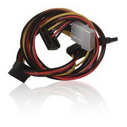 "iStarUSA Molex to Four SATA Converter Power Cable (39.4"")"