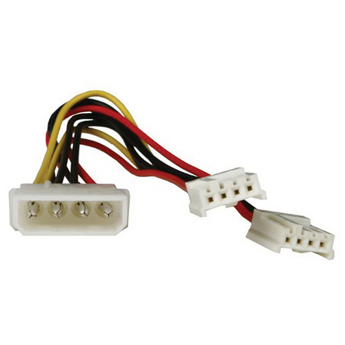 iStarUSA Molex to Dual Floppy Power Splitter Y-Cable
