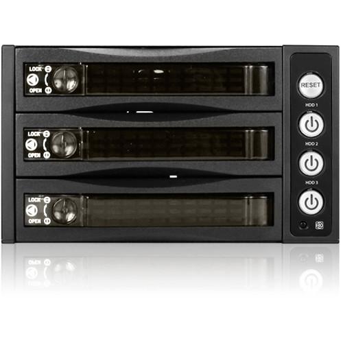 iStarUSA 2x 5.25 to 3x 3.5 12Gb/S Rack - Plastic Door