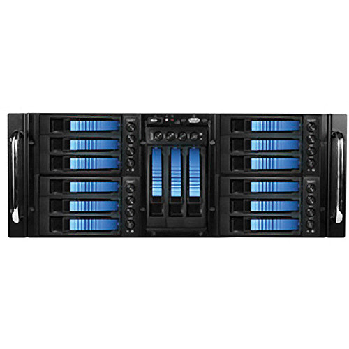 iStarUSA D410-B15BL 4U 10-Bay Stylish Storage Server Rackmountable Hotswap Chassis Kit
