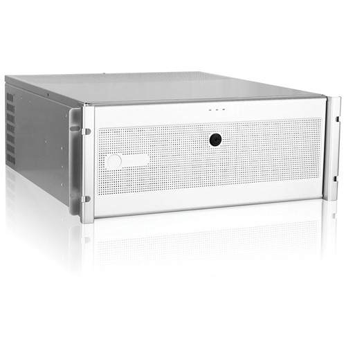 iStarUSA D Storm Series D7-400-6 4U Compact Industrial Rackmount Chassis (Silver)