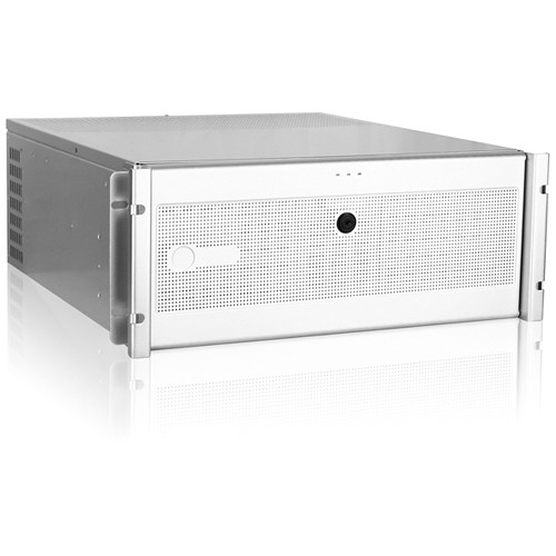 iStarUSA D7-400-6 4 RU Rackmount Chassis Kit with BPN-DE340SS SAS/SATA Hot-Swap Cage (Silver, Black/Silver)