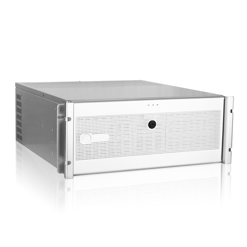 iStarUSA D7-400-6 4 RU Rackmount Chassis Kit with BPN-DE230SS Hot-Swap Cage (Silver, Black/Silver)