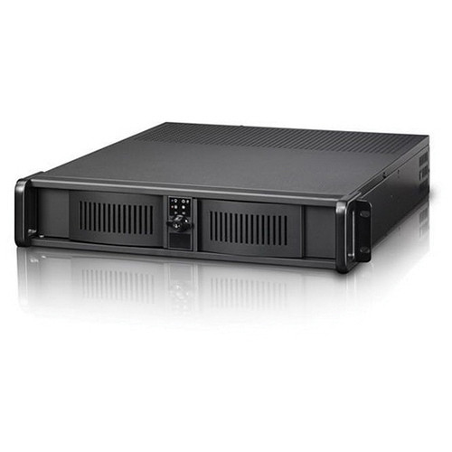 iStarUSA D-200-FS 2U Compact Rackmount Chassis (Black)