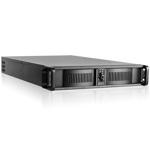 iStarUSA D-200L 2 RU High-Performance Rackmount Chassis with 460W Power Supply