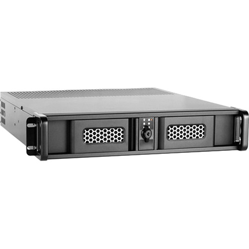 iStarUSA D Storm D-200SE 2U Compact Stylish Rackmount Chassis (Black)