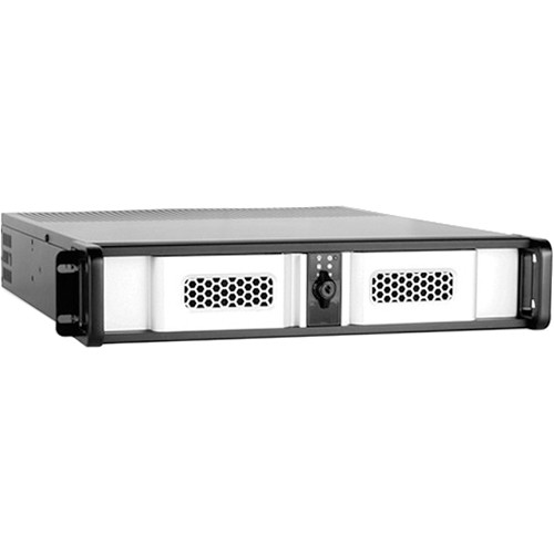 iStarUSA D Storm D-200SE 2U Compact Stylish Rackmount Chassis (Silver)