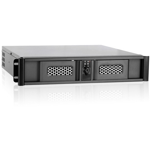 iStarUSA D-200SSE 2U Compact Stylish Rackmount Chassis (Blue)