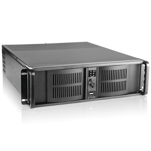iStarUSA D-300 3 RU Compact Rackmount Chassis with 950W Power Supply