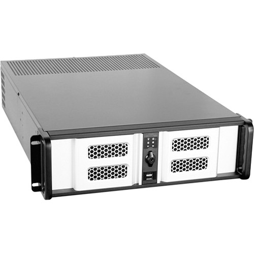 iStarUSA D Storm Series D-300LSE 3U High Performance Rackmountable Chassis (Silver / Black)