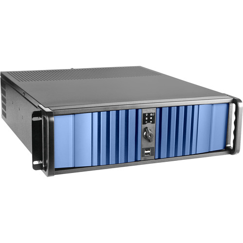 iStarUSA D-300LSEA 3 RU High-Performance Rackmount Chassis with 750W Redundant Power Supply